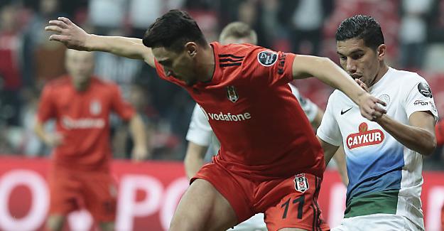 Beşiktaş rahat kazandı..