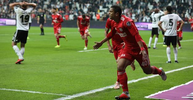 Beşiktaş çöküşte: 1-2