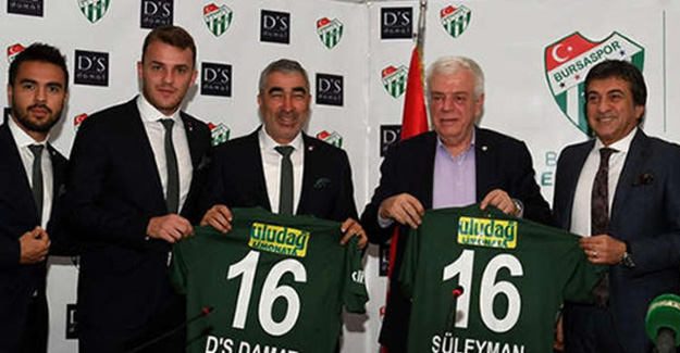 """Bursaspor'u """"D'S Damat"""" giydirecek"""