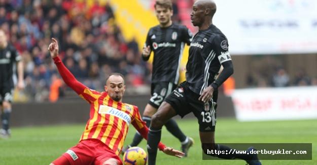Kayserispor 2 - 2 Beşiktaş