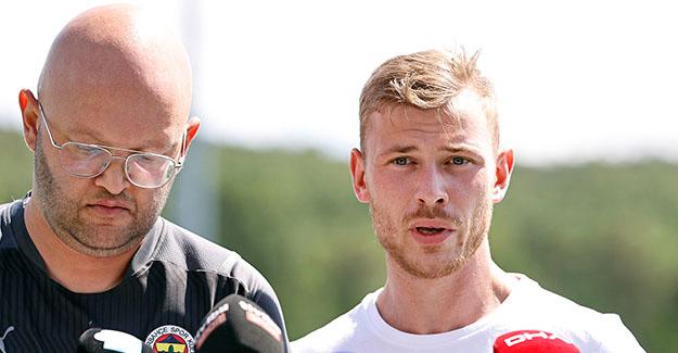 Max Meyer: Fenerbahçe adına sahada olmak için sabırsızlanıyorum