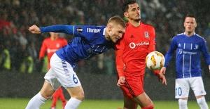 Beşiktaş tur umutlarını son maça taşıdı
