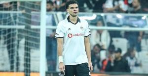 Pepe'den Beşiktaş'a kötü haber
